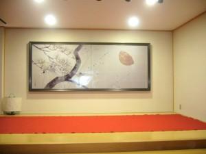 馬場壽子の自宅サロン、和空間「黄鶴」